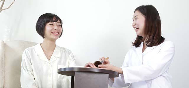 爪治療ーカウンセリング写真