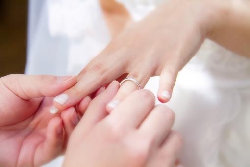 爪矯正ー結婚